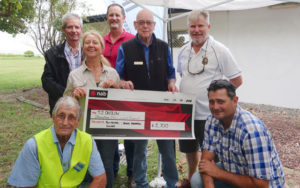 Powerboat Club Presents Cheque to TAPP