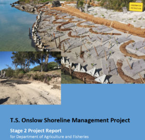 Report Stage 2 TS Onslow Shoreline Management